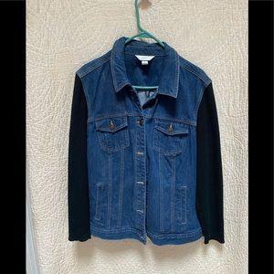 CJ banks denim jacket size 2X